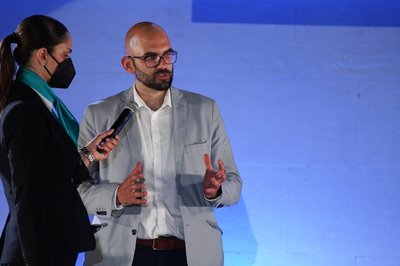 Saúl Salcedo, CEO Iwichain