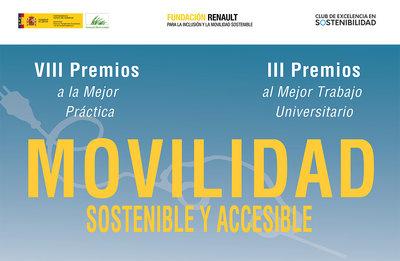 VIII Premios a la Mejor Práctica en Movilidad Sostenible y Accesible y III Premios al Mejor TFG