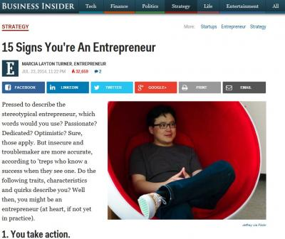 How To Tell If You're An Entrepreneur - Business Insider